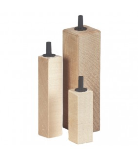 Hobby Lime Wood Air Diffuser 75x15x15 mm, 2 pcs