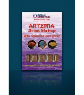Ocean Nutrition Artemia with Spirulina and garlic 100 g