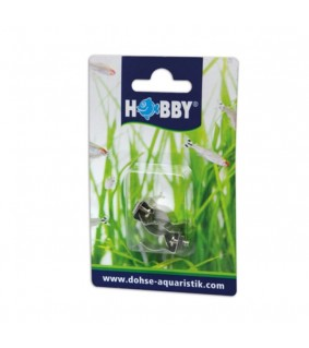 Hobby T5 Clips for reflectors 2 pcs., s.s.