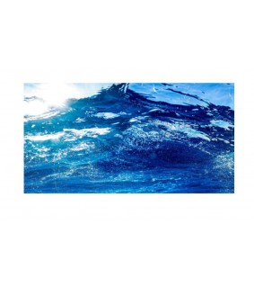 Hobby Adhesive pre-cut photo background Ocean 100 x 50 cm, s.s.