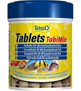 Tetra Tablets TabiMin 275 kpl 85g/150ml