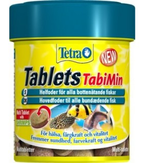 Tetra Tablets Tabimin XL 133 kpl 135g 250ml