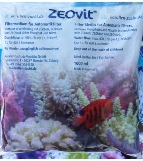 Korallen Zucht ZEOvit automaattisuodattimeen