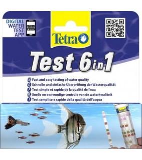 TETRA 6 in 1 liuskatesti 25kpl
