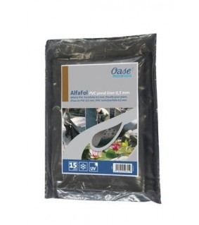 Oase AlfaFol black Pre-Packed 0.5mm / 2 x 3 m lampimuovi