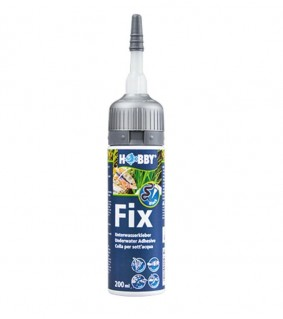 Hobby Fix - Underwater Adhesive, Cartridge black, 200 ml