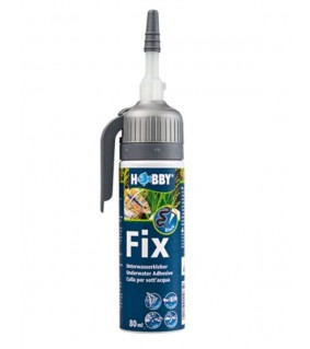 Hobby Fix - Underwater Adhesive, Cartridge black, 80 ml