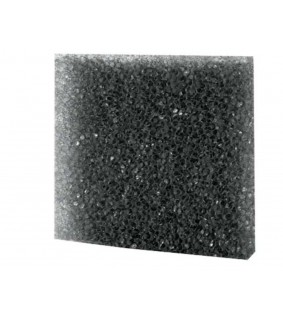 Hobby Filter Sponge, coarse black, 50x50x2 cm