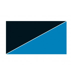 Hobby Pre-cut uni, blue / black 100x50 cm