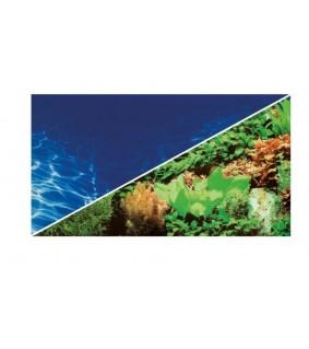Hobby Pre-cut Plants 8 / Marin Blue 100x50 cm