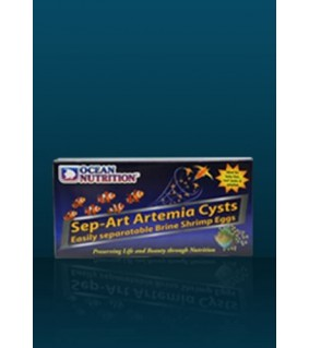 Ocean Nutrition Sep-Art Artemia Cysts