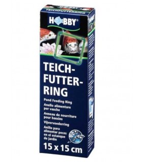 Hobby Pond Feeding Ring 15x15 cm, s.s.