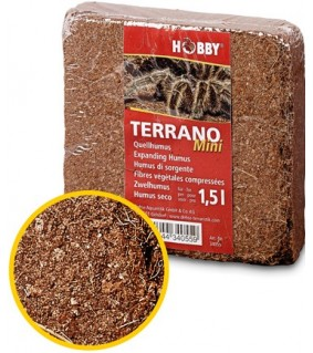 Hobby Terrano Expanding Humus, Mini for 1.5 l
