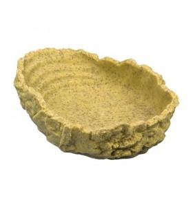Hobby Drinking Bowl L, ochre 550 ml, 24x5x17