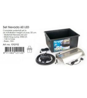 Ubbink Nevada LED 60 cm setti
