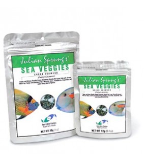 2 Little Fishes Seaveggies green seaweed 12g