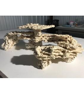 Marcorock shelf shape natural rock p/kg
