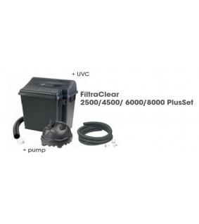 Ubbink FiltraClear 8000 Plus Set (UVC 9W +Elimax 2500)