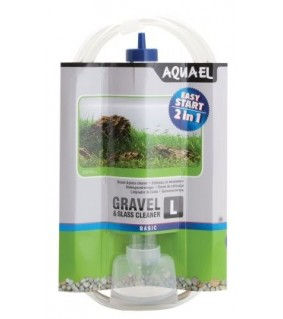 Aquael Gravel & Glass Cleaner L 33cm