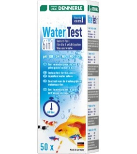 Dennerle Aquatics - water test 6 in 1, 50 pcs.