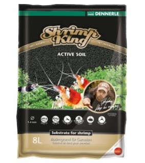 Dennerle ShrimpKing Active Soil 8L