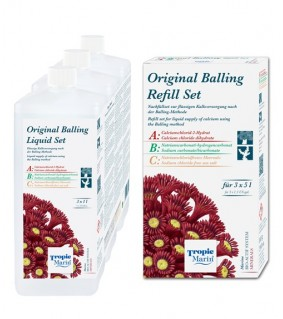 Tropic Marin Part ABC Original Balling Refill kit 3x5l