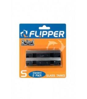 Flipper Magnet Standard varaterä lasille 2kpl