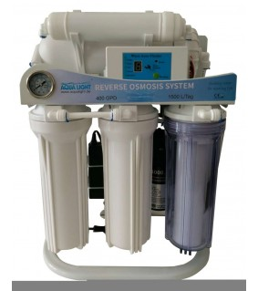 Reverse osmosis SUPER-1500 l/day with booster pump and digital controller