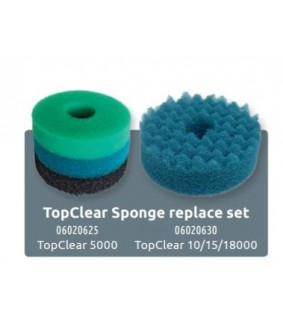 Superfish TOPCLEAR 5000 SPONGE SET 3 PCS