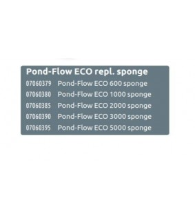 SUPERFISH POND FLOW ECO 1000 SPONGE