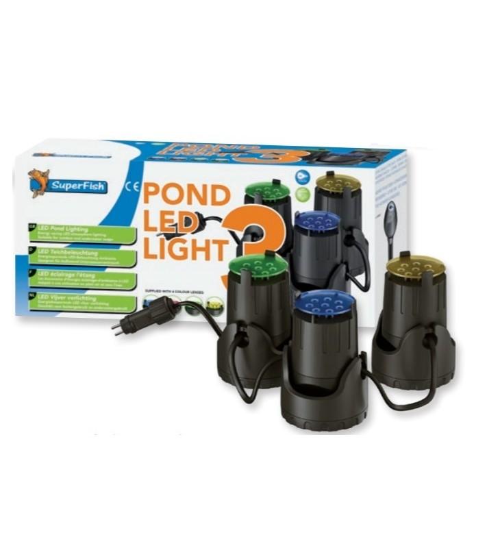 Superfish POND LED LIGHT 3 X