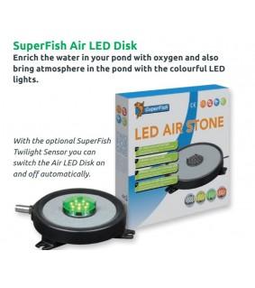 Superfish POND LED & AIR DISK Ø. 10 CM
