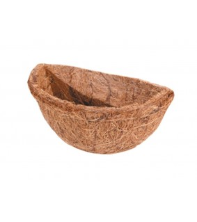Hobby Coconut Basket 1 round, 6x11 cm