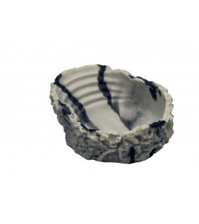 Hobby Drinking Bowl S, marbled 50 ml, 10x3x8 cm