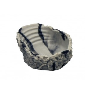 Hobby Bathing Dish, marbled 2,000 ml, 29x9x22 cm