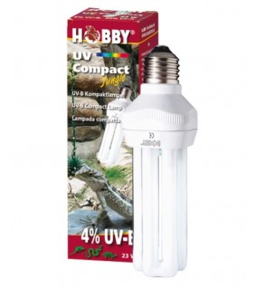 Hobby UV Comapct Jungle, 4 % UV-B 23 W