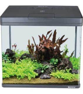Boyu MS LED akvaario 45 l, musta