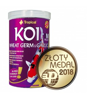 Tropical KOI Wheat germ & garlic M