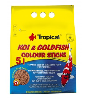 Tropical Koi&Goldfish colour sticks 5 l