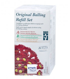 Tropic Marin Part ABC Original Balling Refill kit 6x5l