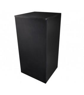 Dupla Cube Stand 80, High gloss black, 45 x 45 x 90 cm