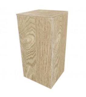 Dupla Cube Stand 80, Samoa oak, 45 x 45 x 90 cm