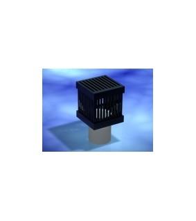 Aqua Connect Ablauf Cube mit Deckel für 40 mm Rohr
