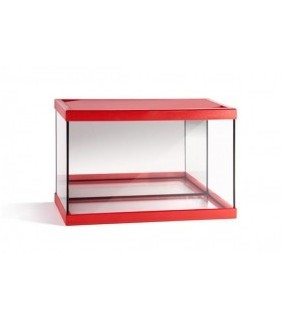 beta acuarios Junior Red Black 20 L Float Glass