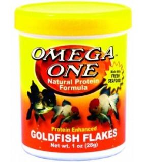 Omega One Goldfish Flakes 28 gr