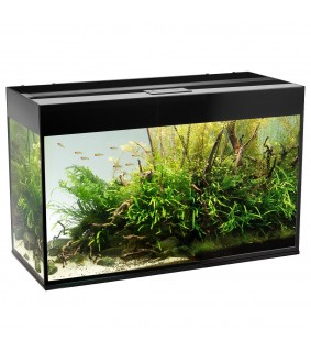 Aquael Glossy 80 akvaario 125 l musta