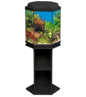 Akwaland kuusikulmainen akvaario, korkea, 42l