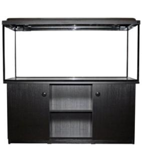 AKWALAND akvaariopöytä musta 125x50x60 cm