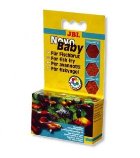 JBL NovoBaby 3x10ml kolme erilaista pölymäistä hiutaletta