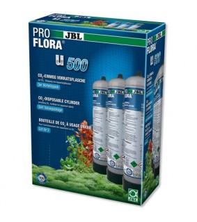 JBL ProFlora 3 x u500 3x500g CO2 pullo
